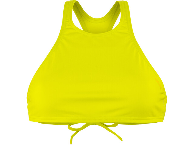 arena Think Crop Top Damen soft green-yellow star